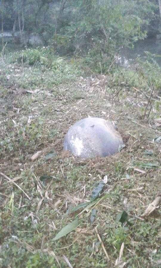Hình ảnh vật thể lạ tại Tuyên Quang