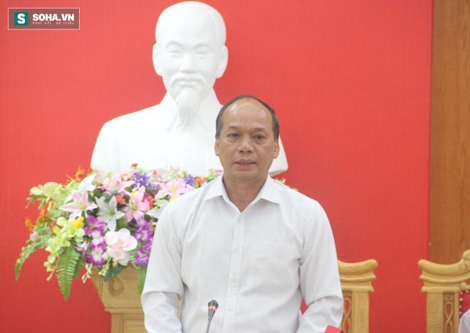 Thứ trưởng Vũ Văn Tám chủ trì buổi họp.