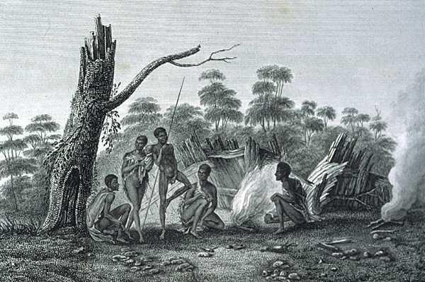 Những thổ dân phải đấu tranh với thú dữ để tồn tại.