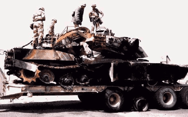 Trong thực tế, chỉ có một xe tăng M1 duy nhất bị phá hủy trong chiến tranh vùng Vịnh, nhưng do quân đội Mỹ bắn nhầm, đôi khi mục đích của họ nhằm tránh xe rơi vào tay quân đội Iraq.