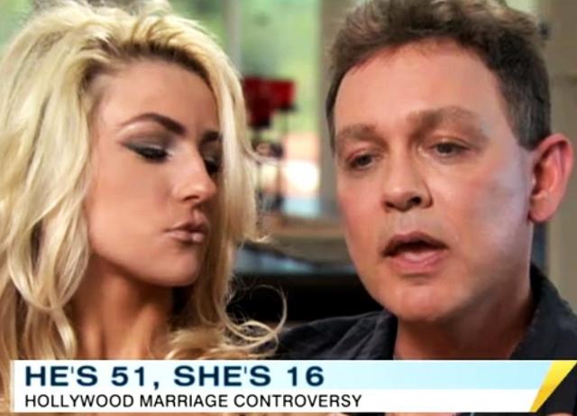 Cuộc hôn nhân gây chấn động Hollywood năm 2011 của cặp đôi: chàng 51 nàng 16.