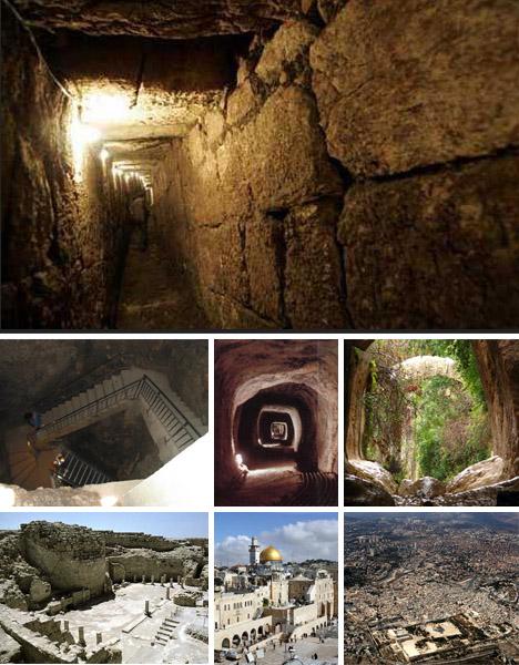 Hệ thống cung cấp nước của người Jerusalem cổ đại.