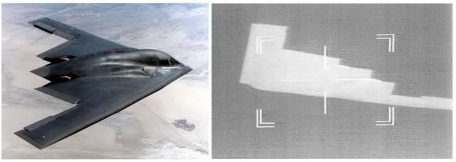 B-2 đã từng bị lộ diện trước camera ảnh nhiệt của tiêm kích Eurofighter Typhoon