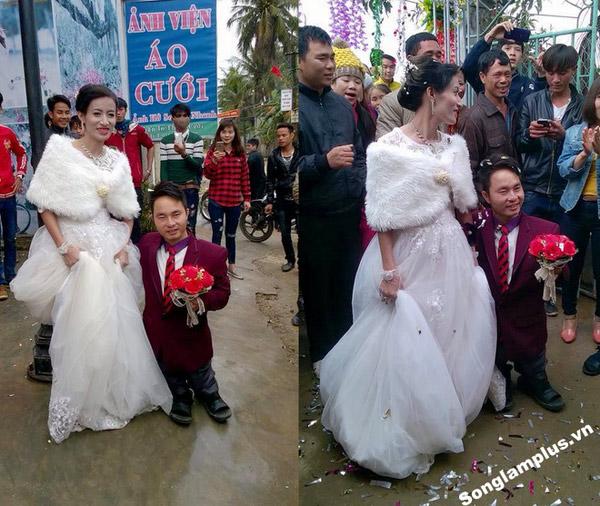 Đám cưới của cặp đôi này khiến nhiều người xúc động. (Nguồn ảnh: Songlamplus)