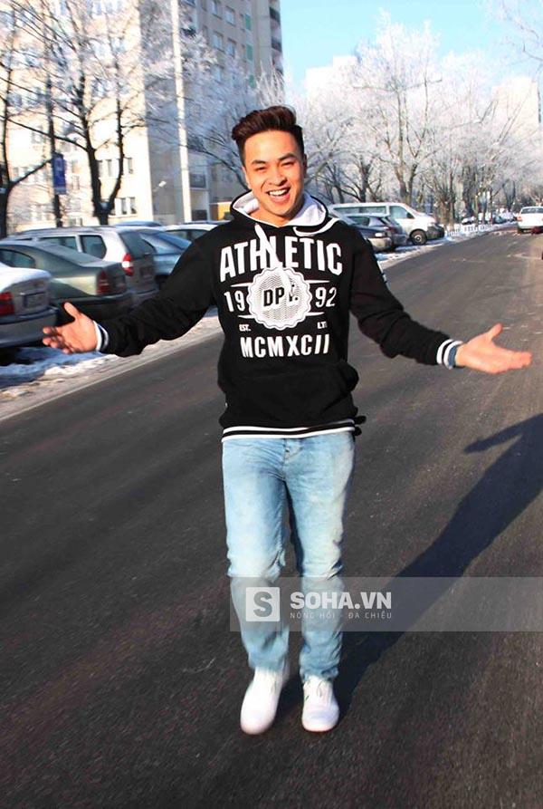Hình ảnh điển trai của diễn viên Lý Chí Huy.