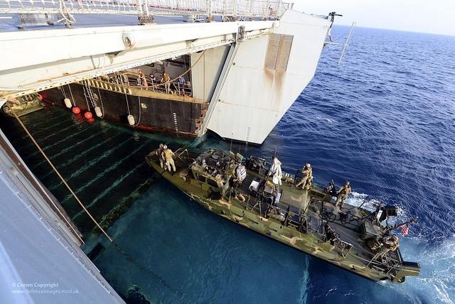 Những chiếc RCB cũng có thể được vận chuyển nhờ các tàu đổ bộ cỡ lớn của Hải quân Mỹ (chứa trong khoang đổ bộ).