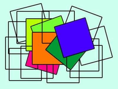 Có 18 hình vuông