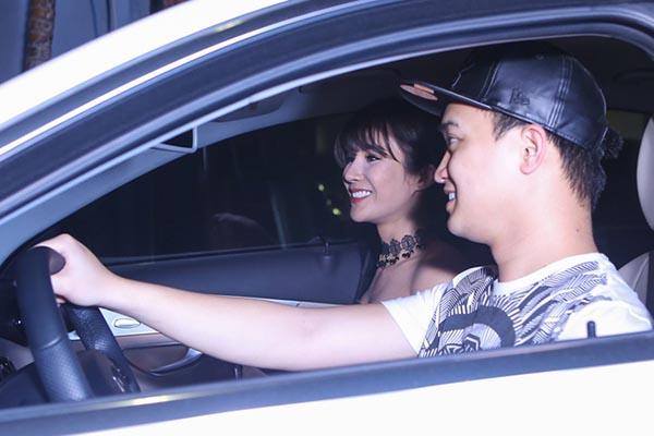 Hình ảnh của Diệp Lâm Anh và bạn trai trong lần xuất hiện mới nhất.