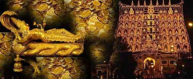 Kho báu hoàng gia trong đền thờ Padmanabhaswamy