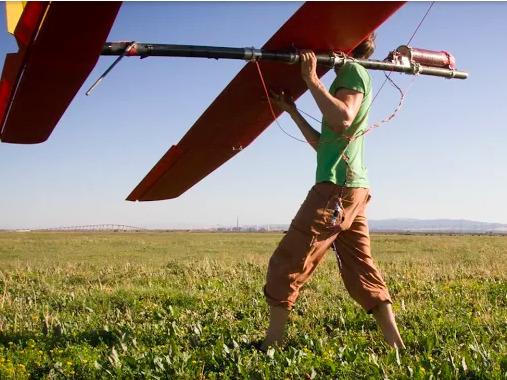 Diều có cánh quạt như máy bay trực thăng
