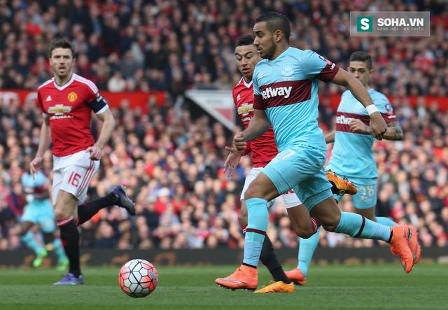 Payet từng khiến Man United phải run rẩy tại cúp FA.