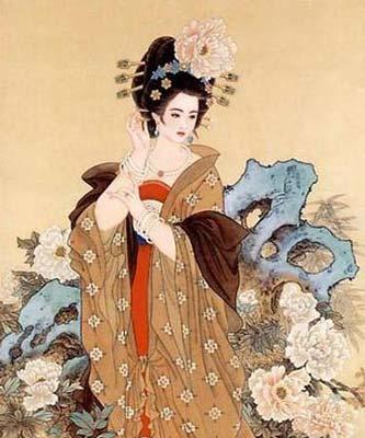 Người Nhật Bản khẳng định rằng quốc đảo của họ chính là nơi Dương Quý phi đã sống những năm tháng cuối đời. (Tranh minh họa).