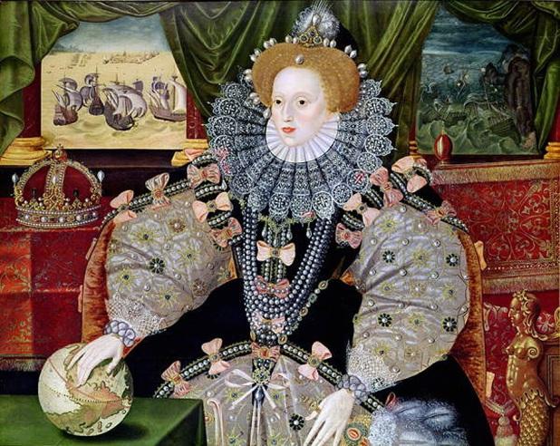 Nữ hoàng Elizabeth I.