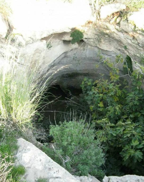 Lối đi vào Khu Bảo tồn Tự nhiên Adullam Grove, ở Israel.