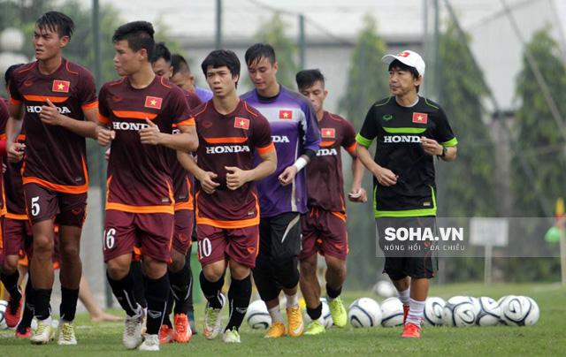 HLV Miura chưa tìm ra giải pháp tốt nhất cho U23 Việt Nam.