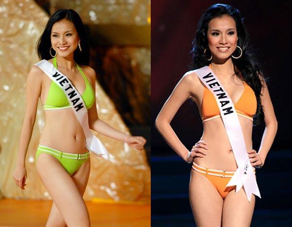 Năm 2008, Thùy Lâm đăng quang Hoa hậu Hoàn vũ Việt Nam mùa đầu tiên và đạt thành tích lọt Top 15 chung cuộc Miss Universe.