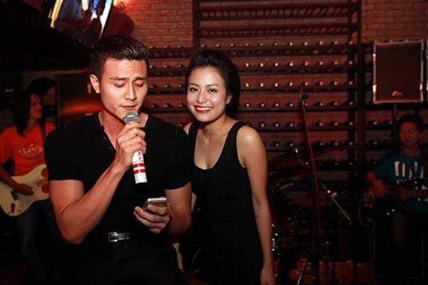 Hoàng Thùy Linh đang là bạn gái tin đồn hiện tại của siêu mẫu Vĩnh Thụy.