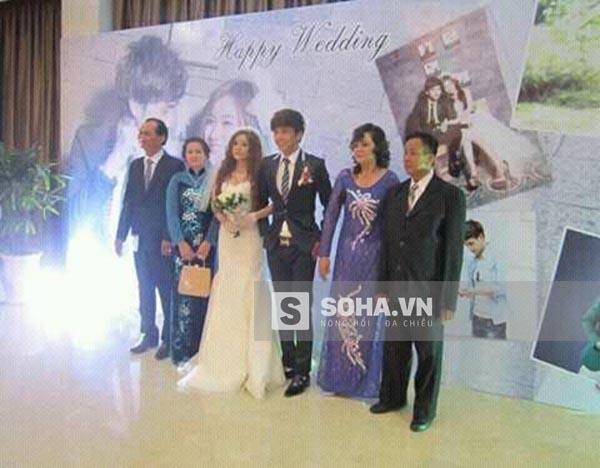 Hình ảnh đám cưới của Hồ Quang Hiếu và Ivy.