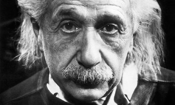 Nhà vật lý Albert Einstein.