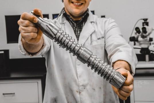 Chi tiết kim loại làm bằng modumetal