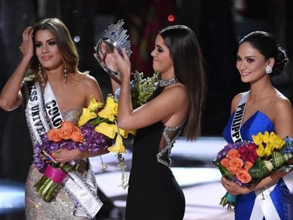 Màn trao nhầm vương miện của cuộc thi Hoa hậu Hoàn vũ 2015 khiến cả thế giới ngỡ ngàng.