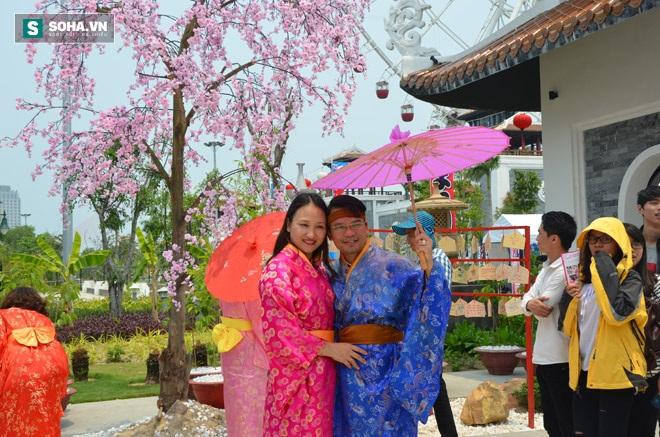 Vợ chồng người Việt hóa thân thành cặp vợ chồng người Nhật