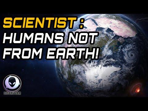 Khoa học cho rằng: con người không tới từ Trái Đất