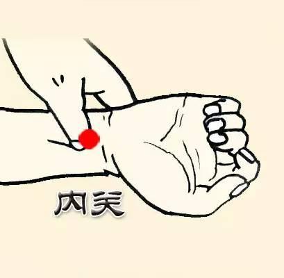 Ấn huyệt Nội quan giúp bảo vệ tim mạch và cấp cứu khi nguy kịch.