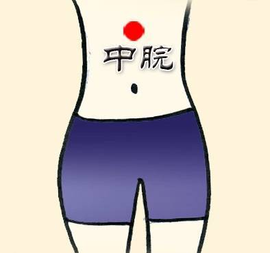 Thường xuyên ấn Huyệt Trung quản hỗ trợ giảm đau dạ dày.