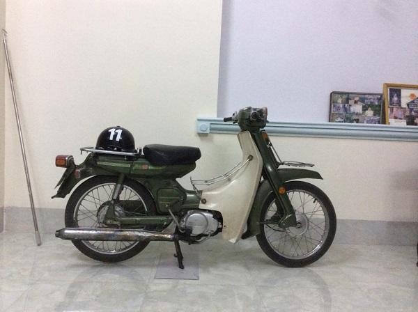 Xe Yamaha Mate 50cc. Ảnh: BikerVietnam