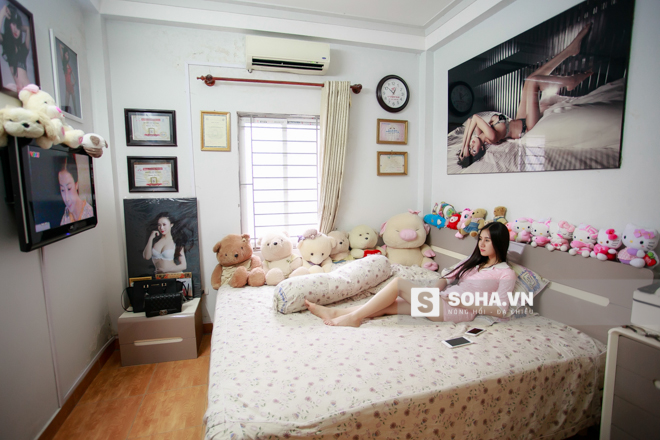 Sau bữa trưa, Thùy Vân về phòng, đây chính là khoảng thời gian giải trí duy nhất trong ngày của cô. Nữ dancer theo dõi một vài bộ phim truyền hình. Cô yêu thích thể loại phim drama của Hàn Quốc.