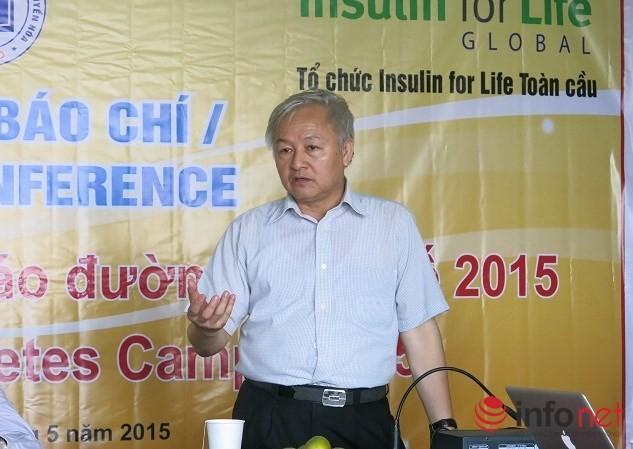 Giáo sư Tạ Văn Bình - Viện trưởng Đái tháo đường và Rối loạn chuyển hóa
