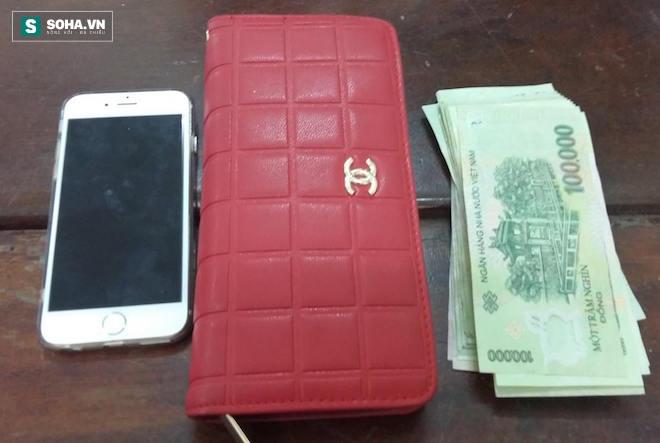 Tang vật vụ án là chiếc iphone 6 và số tiền 13 triệu đồng.