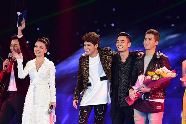 Team Noo Phước Thịnh là nhóm thí sinh có số điểm quy đổi cao nhất nhờ điểm tuyệt đối từ giám khảo và số bình chọn cao từ khán giả.