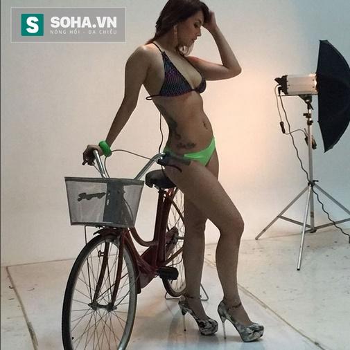 Khi chưa photoshop, thân hình của Maria Ozawa vẫn rất chuẩn.