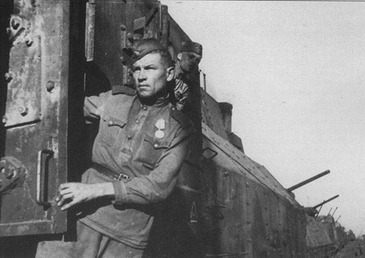 Chiến sĩ hồng quân trên tàu Ilya Muromets.