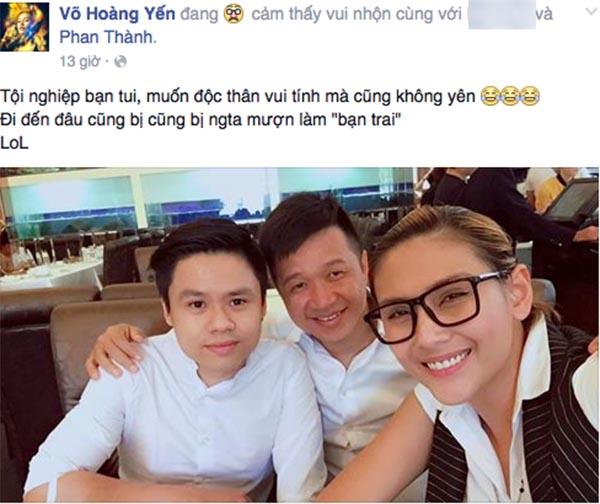 Võ Hoàng Yến đang muốn giải oan cho Phan Thành?