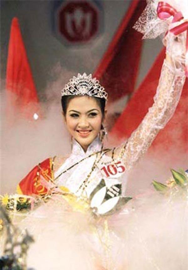 Phan Thu Ngân đăng quang Hoa hậu Toàn quốc khi vừa tròn 20 tuổi. Thời điểm đó, cô cao 1m69 cùng số đo 3 vòng lần lượt là: 79-61-92.