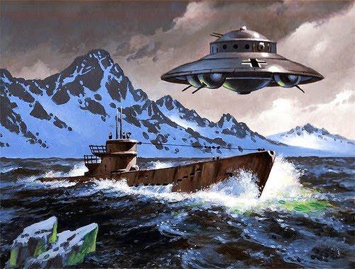 Người Đức đã bí mật nghiên cứu UFO tại Nam Cực?