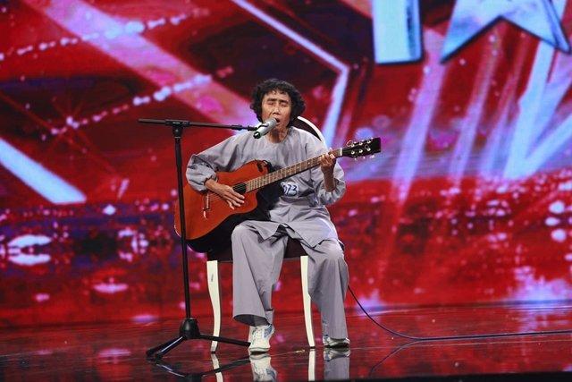 Bà Nguyễn Thanh Thúy trong chương trình Vietnams got talent.