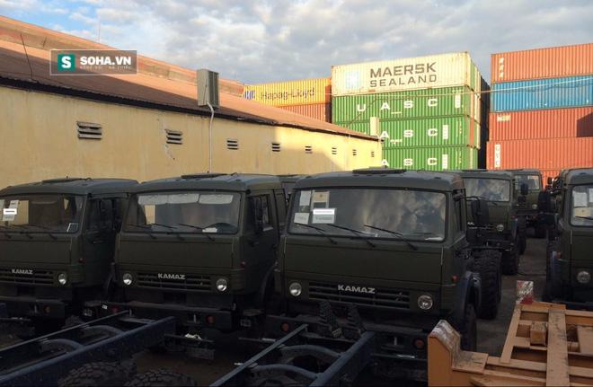 Khung gầm xe tải việt dã Kamaz-43118 đã giành được sự tin cậy của Việt Nam và gần đây được nhập về khá nhiều.