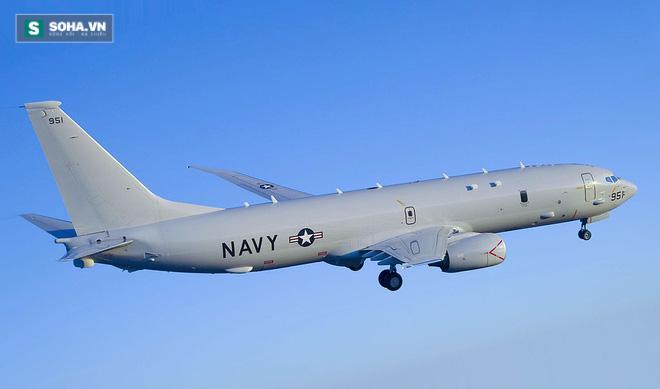 Máy bay tuần thám săn ngầm P-8 của Hải quân Mỹ.