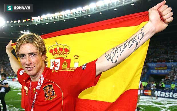 Torres rất thích các trận chung kết.
