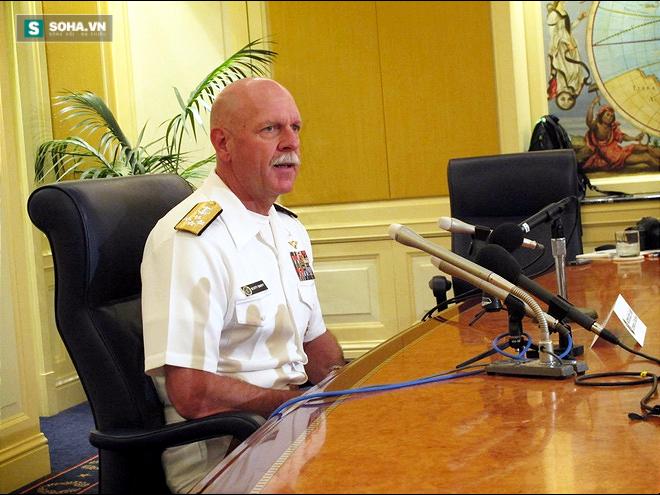 Đô đốc Scott Swift (Ảnh: Stripes.com)