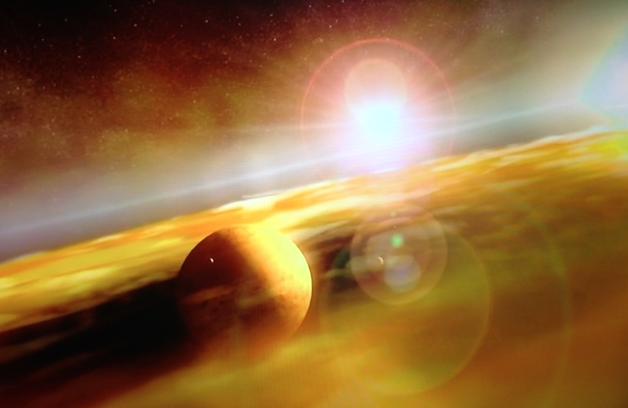 Bên ngoài không gian rộng lớn kia, liệu sự sống của đang tồn tại mà con người chưa biết?. Hình minh họa.