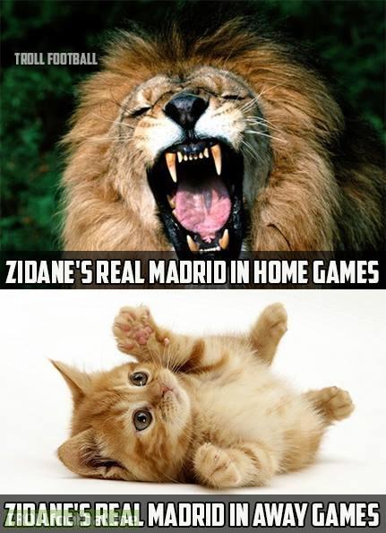 Dưới thời Zidane, fan Real sợ nhất các chuyến làm khách tại La Liga.