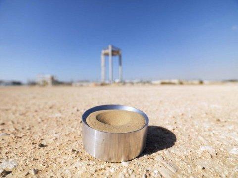 Thử nghiệm dùng cát sa mạc làm vật liệu lưu trữ nhiệt mặt trời