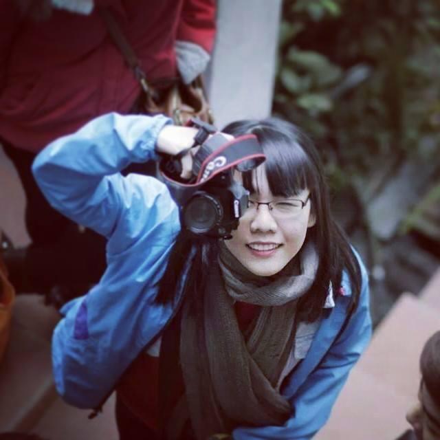 Tâm Linh là cô gái có đam mê chụp hình