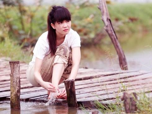 Hình ảnh của Ngọc Trinh trong bộ phim Vòng eo 56.