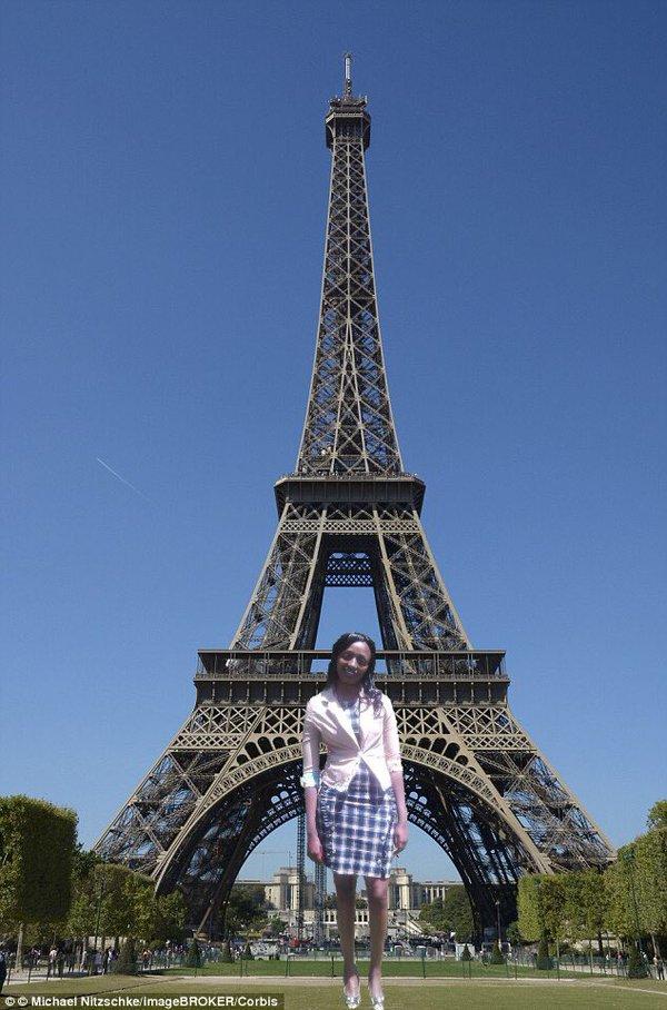 Thăm Paris, Pháp.